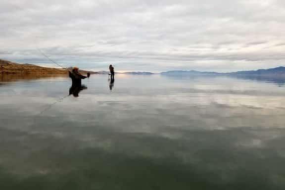fly fishing pyramid lake