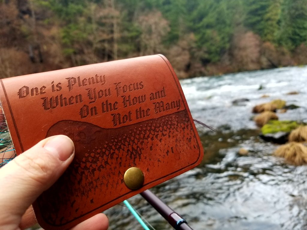 leather fly wallet