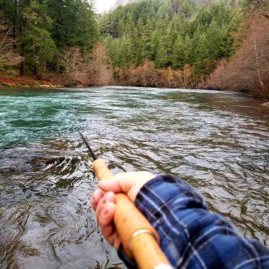 north umpqua river spey fishing