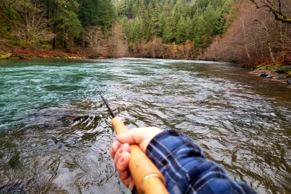 north umpqua river spey fishing