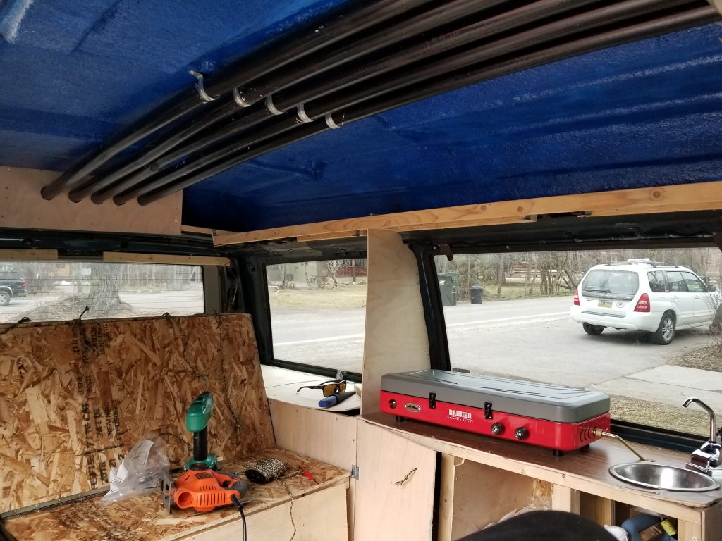 Campervan kitchen build
