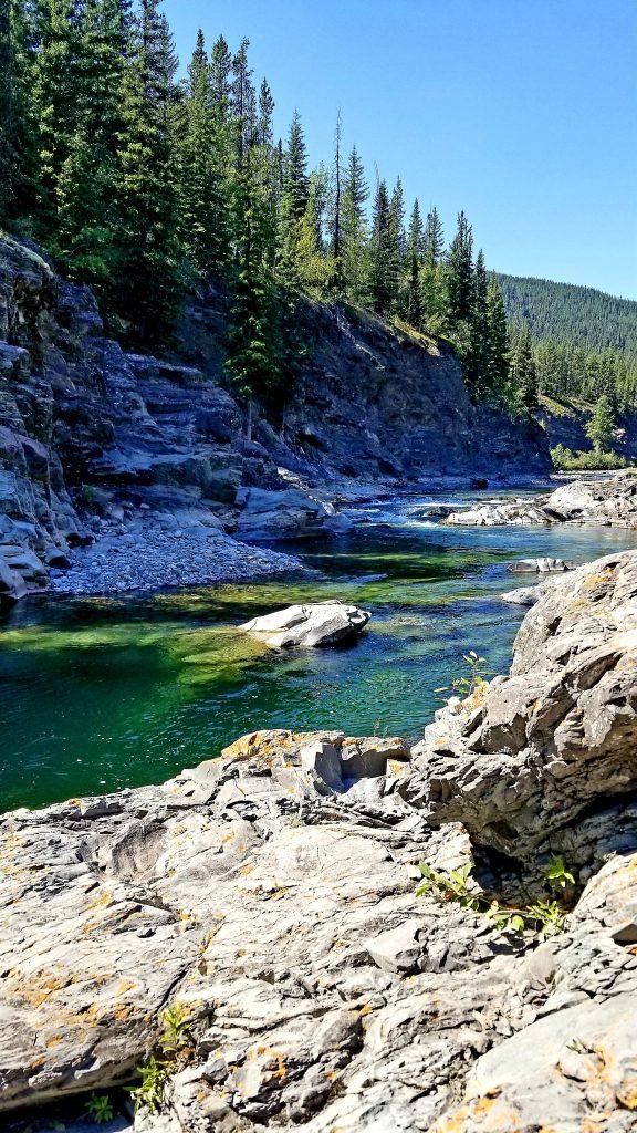 Alberta trout fishing