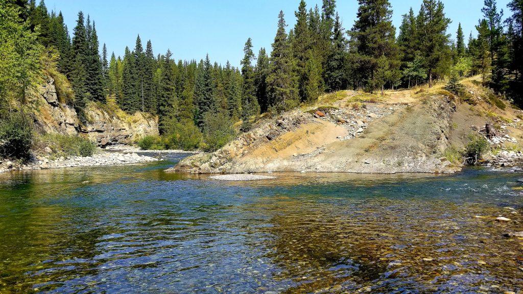 alberta fly fishing rivers