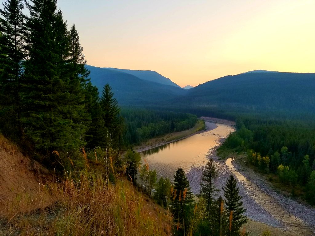 south fork of flathead river