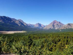 glacier national park, st. mary peak