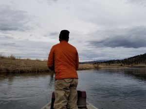 drift boat fly fishing