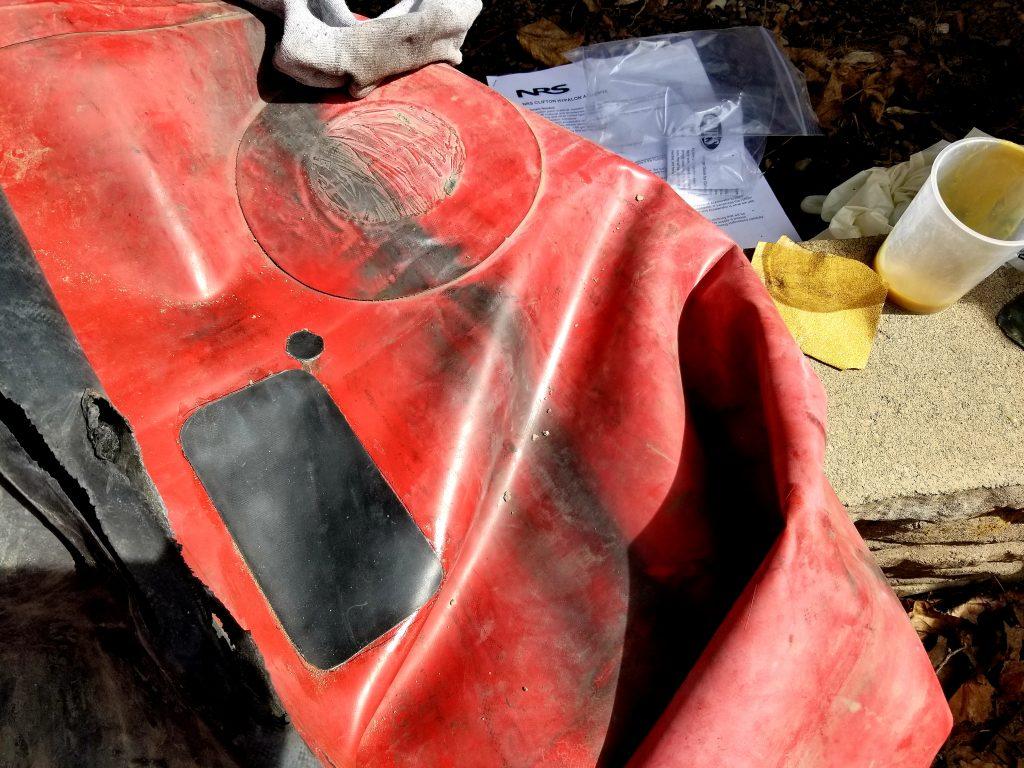 hypalon boat repair