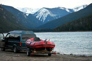 van camping montana