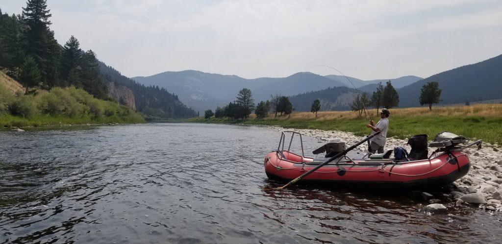 big hole river fishing float