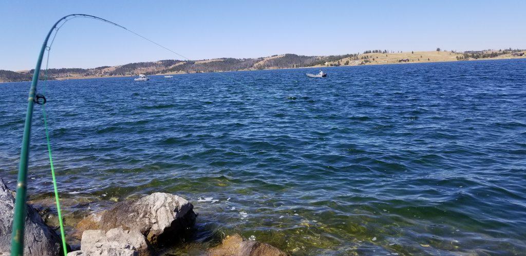 georgetown lake fly fishing