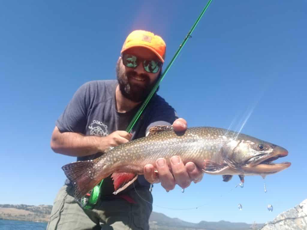 georgetown lake brook trout